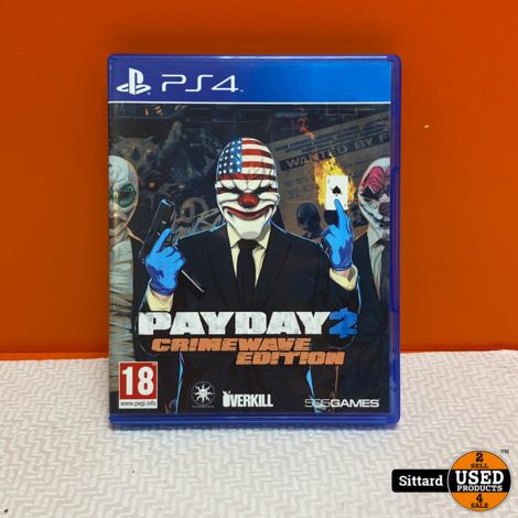 Playstation 4 Game - Payday 2   Nwpr. 19.98 Euro