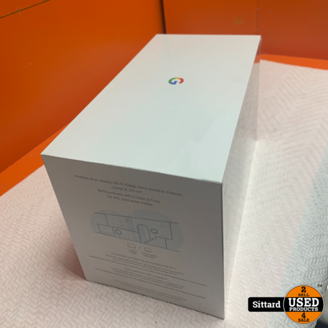 Google Nest Wifi router en wifipunt , nwpr, 219 Euro