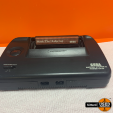 Sega Master System II + Sonic The Hedgehog