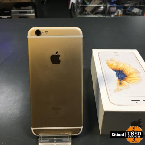 iPhone 6S 64 GB, Gold, in nieuwstaat, batterij 87%