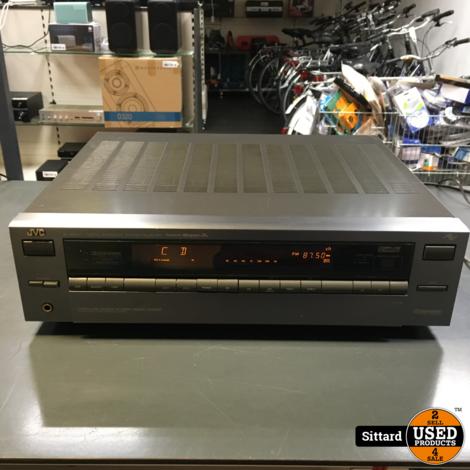 JVC  R-508VL stereo receiver met PHONO ingang