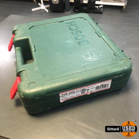 Bosch PSB 1800 LI-2 Accuboor met 2 accu's 18V/2,5Ah + lader | elders 189 euro