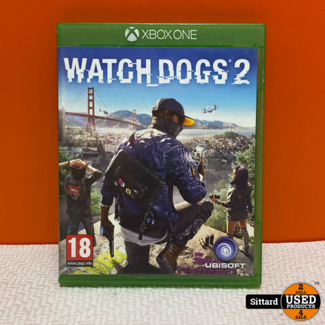 Xbox One Game - Watch Dogs 2