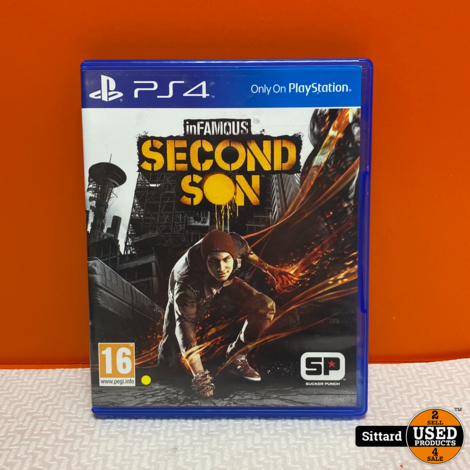 Playstation 4 Game -  Infamous Second Son