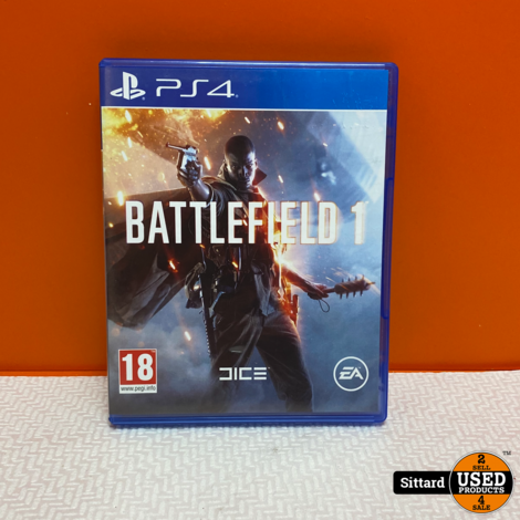 Playstation 4 Game -  Battlefield 1