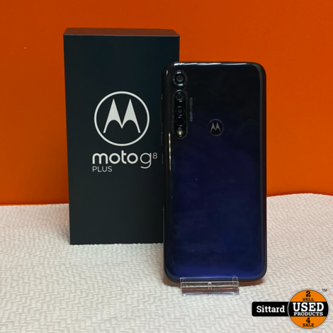 Moto G8 Plus 64GB, Blue | Nwpr. 249,- Euro