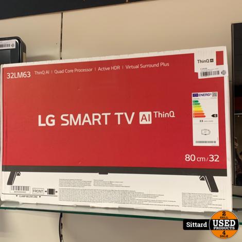 LG 32LM637BPLA smart tv, NIEUW gesealed, elders 275 euro