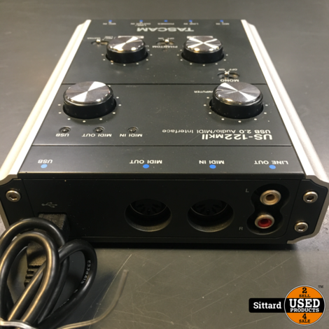 TASCAM US-122 mkII  USB audio/MIDI interface in NIEUWstaat