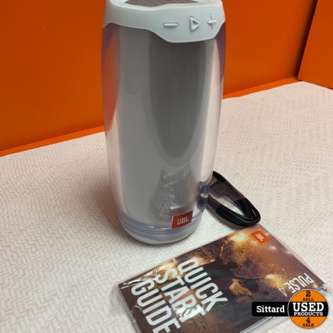 JBL Pulse 4 Wit - Draagbare Bluetooth Speaker , nwpr. 179 Euro