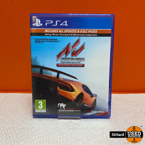 Playstation 4 Game - Assetto Corsa