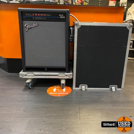 Fender Bass 300c Combo BXR 90's USA Amplifier + Flightcase