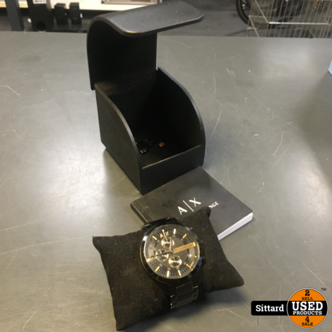 Armani Exchange Hampton Heren Horloge AX2164 - 46 mm | nwpr 165 euro