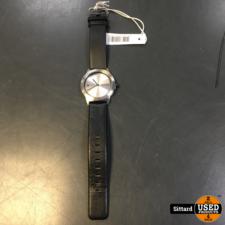 Jacob Jensen 150 herenhorloge met leren band   nwpr 179 euro