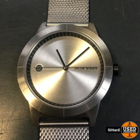 Jacob Jensen 152 herenhorloge met stalen band | nwpr 189 euro