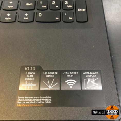 LENOVO V110 laptop, Intel i3 6e gen, 4 / 240GB, DVD | nwpr 500 euro