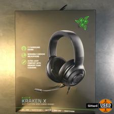 Razer Kraken X gaming headset zwart   NIEUW   elders te koop voor 50 euro