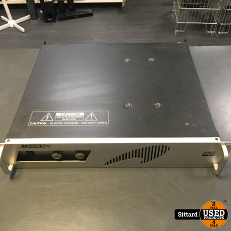 DAP Pro Mission 500  PA-versterker, 2x 500 Watt