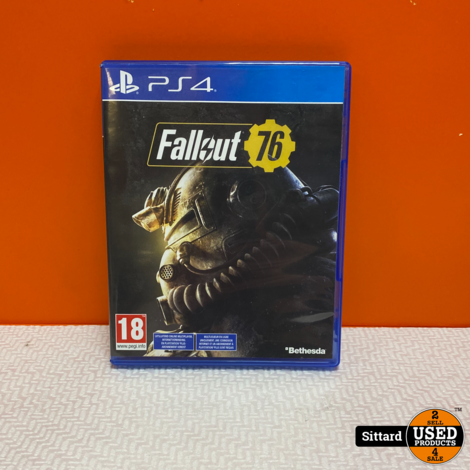 Playstation 4 Game - Fallout 76
