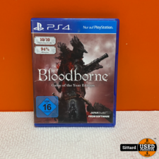 Playstation 4 Game - Bloodborne Game of the year edition