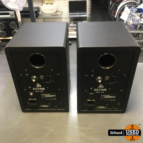 Devine MR-5A actieve studiomonitor (set van 2) | nwpr 178 euro