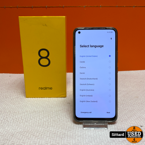 Realme 8 (4GB) 64GB , 5G Smartphone   Nwpr. 188,- Euro