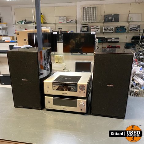 Philips mcd 909 inclusief doos + speakers