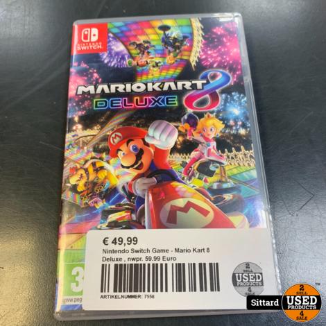 Nintendo Switch Game - Mario Kart 8 Deluxe , nwpr. 59.99 Euro