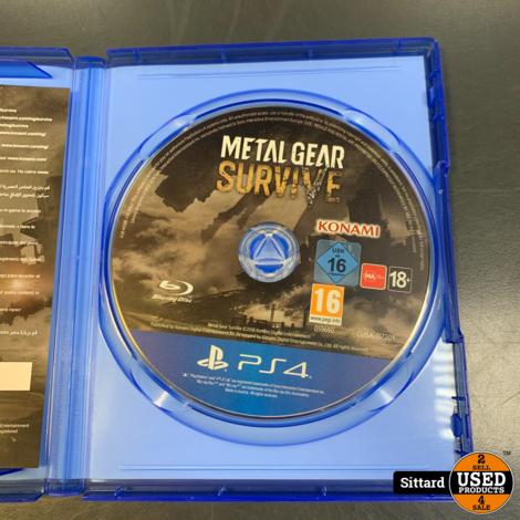 Playstation 4 Game - Metal Gear Survive , Elders voor 9.99 Euro
