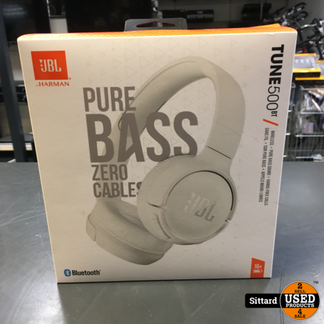Tune 500BT - Draadloze on-ear koptelefoon - Wit
