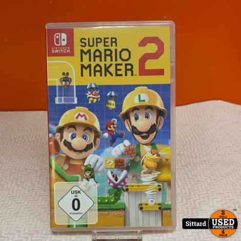 Nintendo Switch Game - Super Mario maker 2 , Elders voor 54.99 Euro