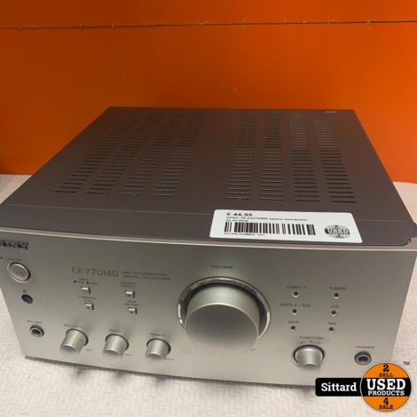 SONY TA-EX770MD stereo versterker, 2x 45 Watt