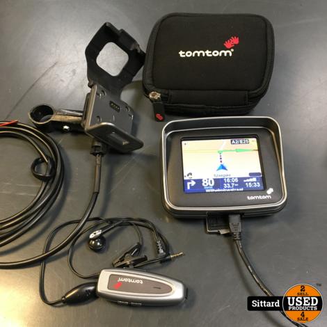 TomTom Rider, compleet motor navigatie systeem, update tot 2016