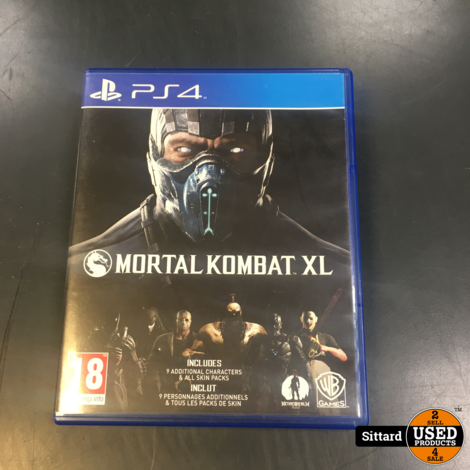 Mortal Kombat XL | PS4 game