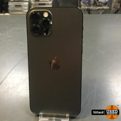 Apple iPhone 12 Pro, Gray, 128GB in nieuwstaat, accu 100%