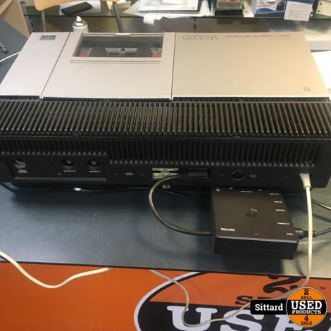 Philips VR2020 videorecorder, de eerste Video 2000 uit 1979, incl. SCART aansluiting