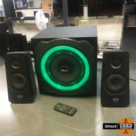 Trust GXT 629 Tytan - 2.1 RGB Speaker / Zwart   nwpr 84 euro