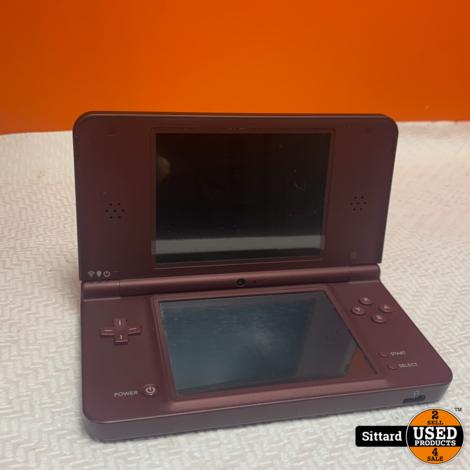 Nintendo DSi XL Console - Bordeaux Rood
