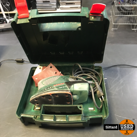 Bosch PSM 80A Schuurmachine , in koffer