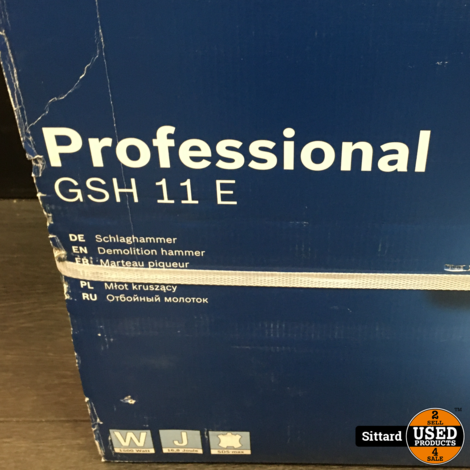 Bosch Professional GSH 11E - Nieuw!
