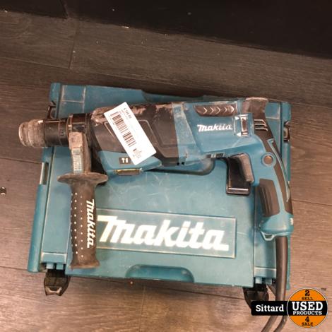 MAKITA HR2631FTJ SDS Boorhamer 800 Watt, met originele koffer