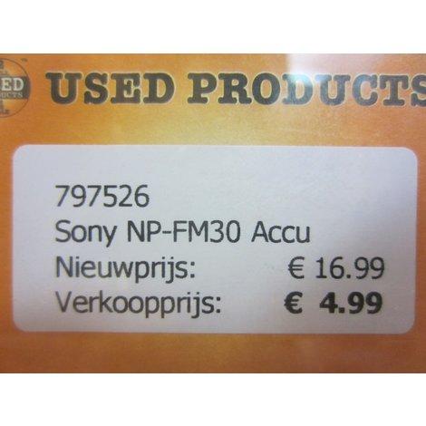 Sony NP-FM30 Accu