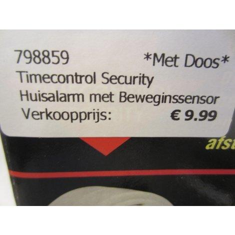 Timecontrol Security Huisalarm met Beweginssensor
