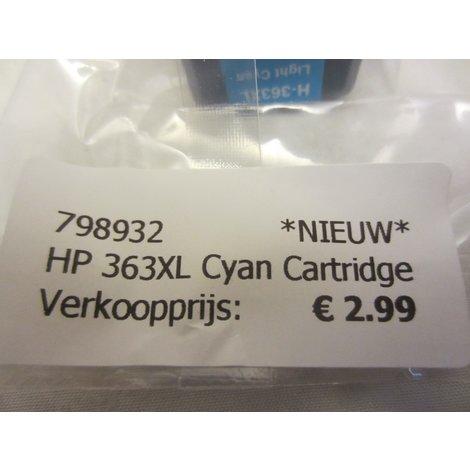 HP 363XL Cyan Cartridge