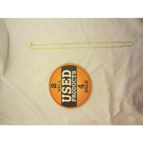 Gold Plated Ketting *800816*