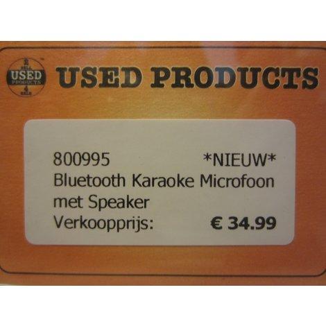 Bluetooth Karaoke Microfoon met Speaker
