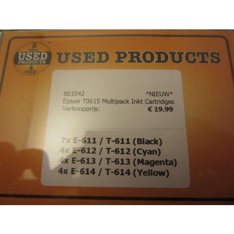 Epson T0615 Multipack Inkt Cartridges