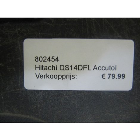 Hitachi DS14DFL Accutol