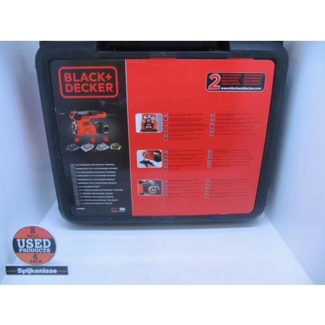 Black & Decker KA280K Multi Schuurmachine
