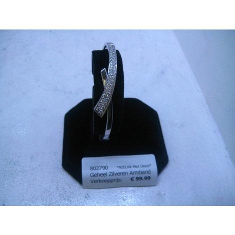 Geheel Zilveren Armband *802790*