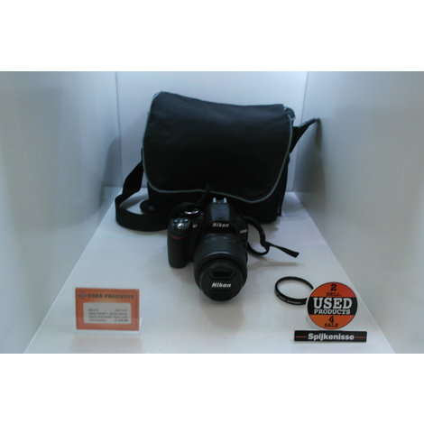 Nikon D3100 + 18-55 Lens